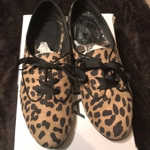 Aldo Flat Leopard Print casual shoes